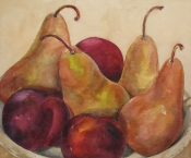 <h5>Autumn Pears, SOLD</h5>