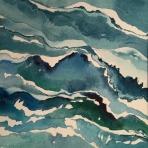 <h5>Long Sands Ruffle, 14 x 14</h5>