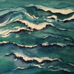 <h5>Long Sands Weave, 14 x 14</h5>